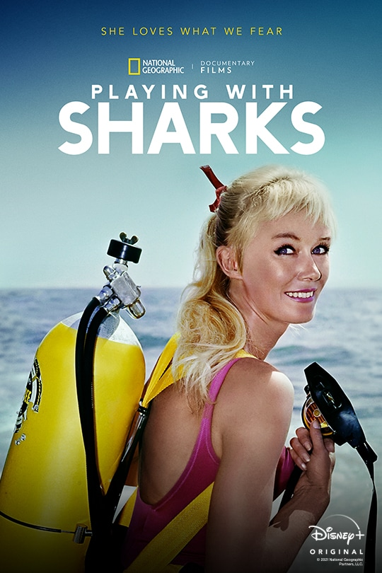 National Geographic Documentary Films | Playing With Sharks | Disney+ Original Documentary | movie poster