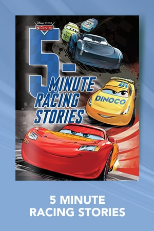Books - Cars - 5-Minute Racing Stories