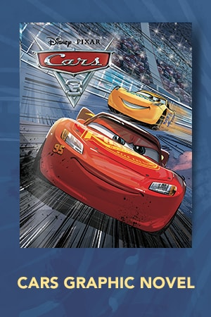 Books - Cars - Disney Pixar Cars 3 Movie Graphic Novel
