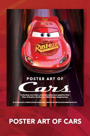 Books - Poster Art of the World of Cars