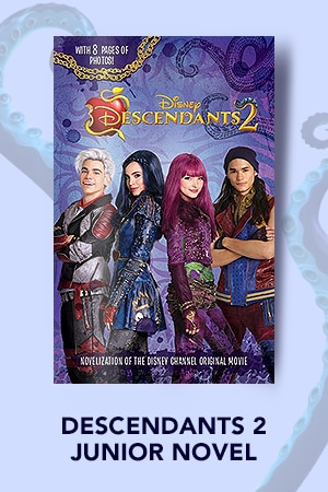 Books - Descendants 2 Jr. Novel
