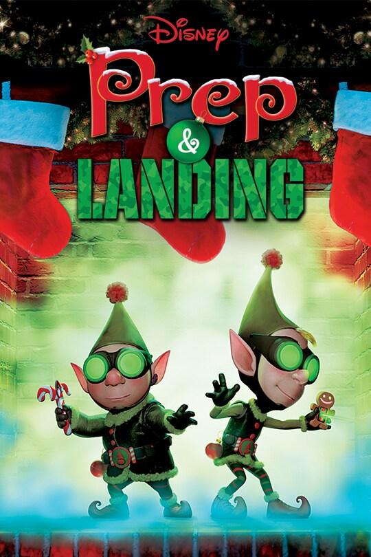 Disney Prep & Landing movie poster