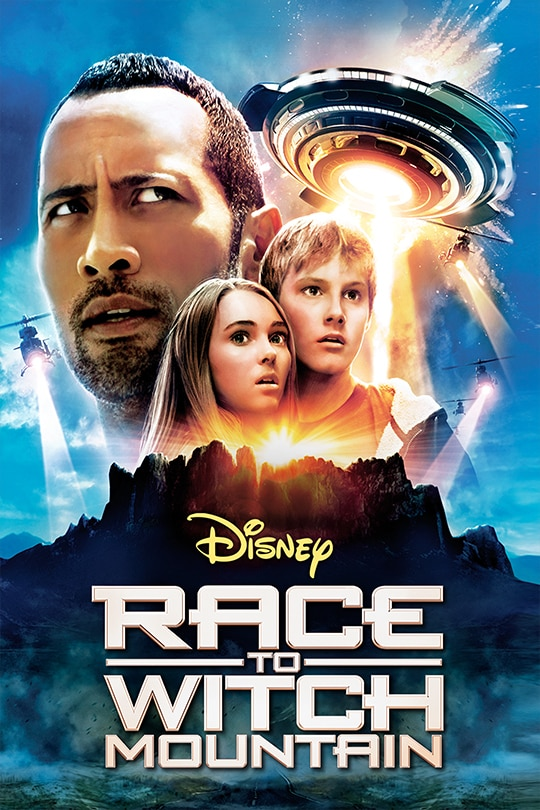 Race To Witch Mountain movie poster