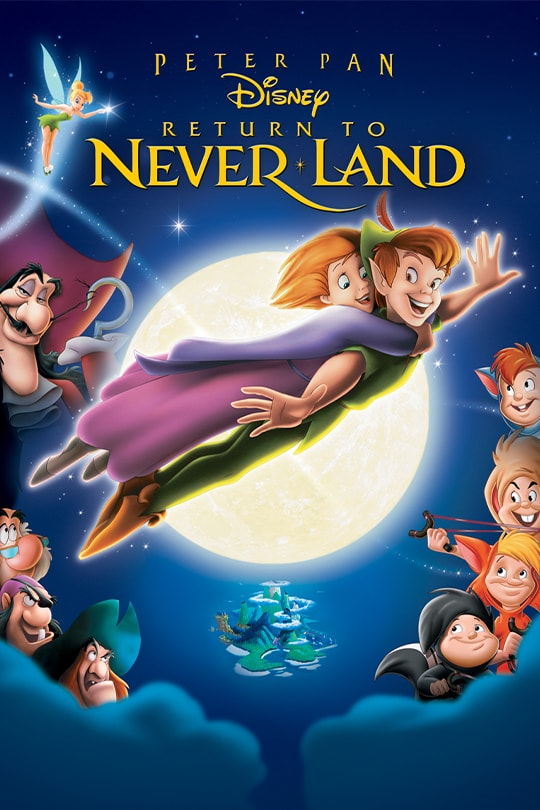 Peter Pan Return to Never Land Movie Poster