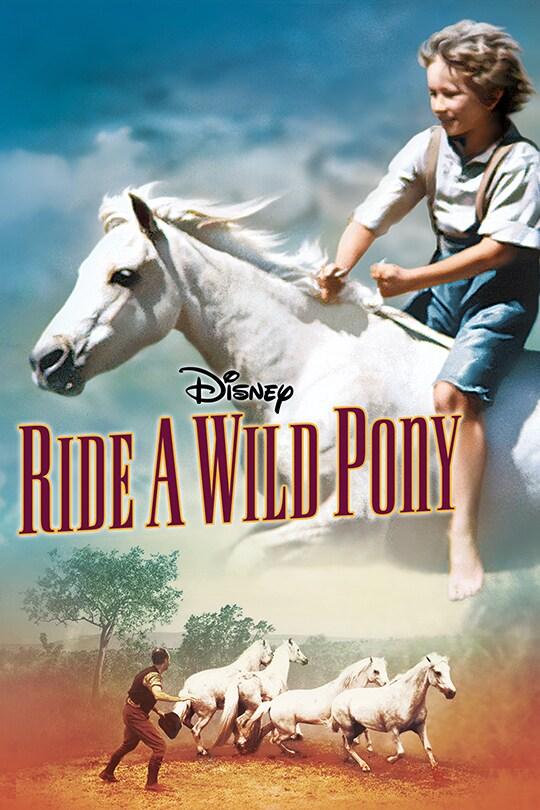 Disney | Ride a Wild Pony movie poster
