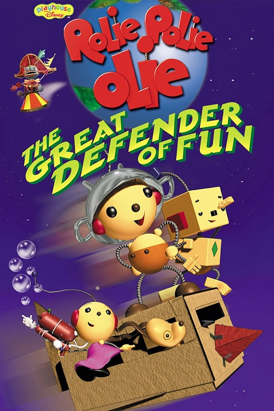 Rolie Polie Olie: The Great Defender of Fun movie poster