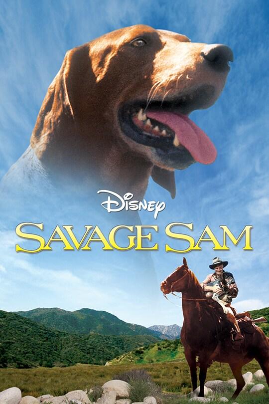 Savage Sam movie poster