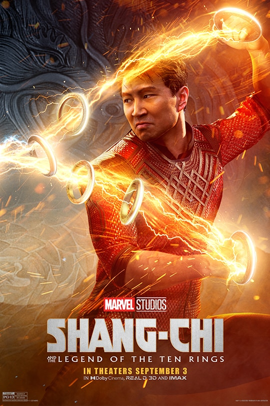 Marvel Studios | Shang-Chi and The Legend of The Ten Rings | In theaters September 3 | movie poster