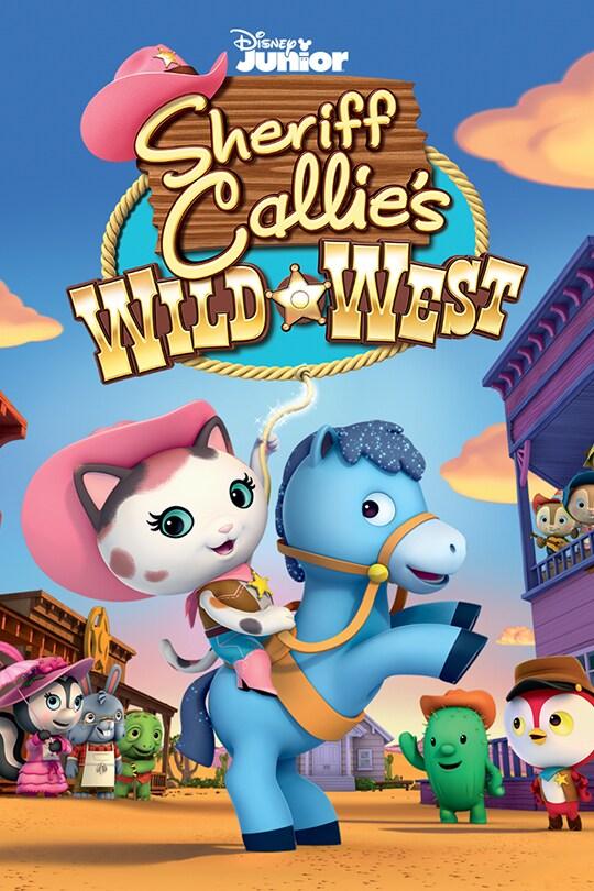 Sheriff Callie's Wild West movie poster