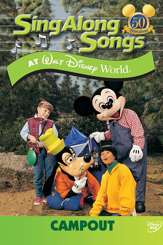 Sing Along Songs: Campout At Walt Disney World poster