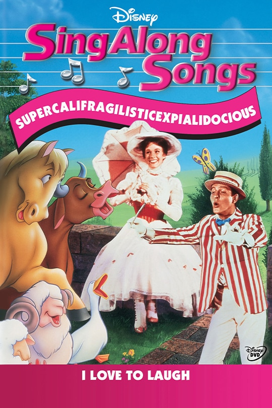 Sing Along Songs: Mary Poppins Supercalifragilisticexpialidocious Movie Poster