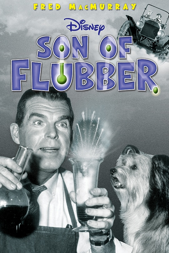 Fred MacMurray | Disney | Son of Flubber poster