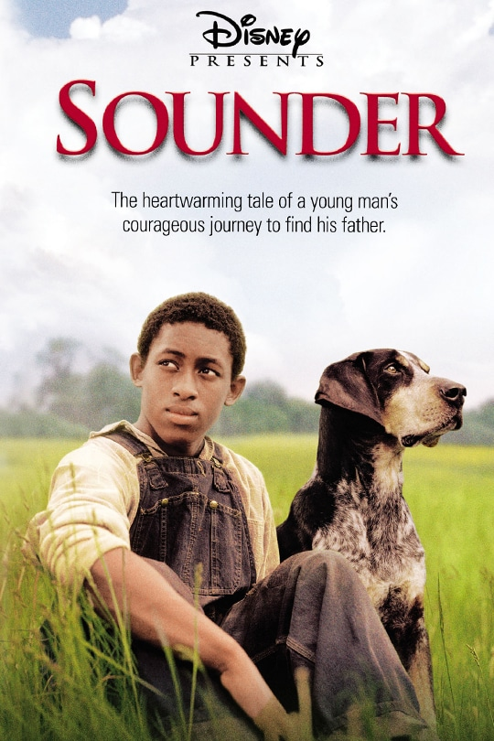 Disney Presents | Sounder | The heartwarming tale of a young man's courageous journey to find his father | poster