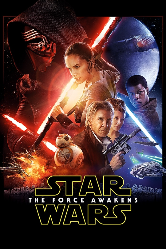Star Wars: Episode VII The Force Awakens Movie Poster