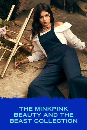 THE MINKPINK BEAUTY AND THE BEAST COLLECTION