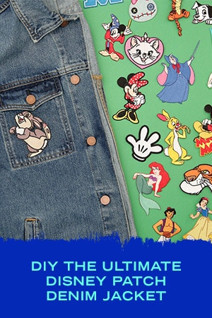 DIY THE ULTIMATE DISNEY PATCH DENIM JACKET