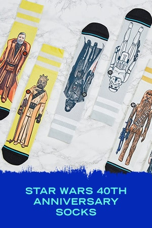 STAR WARS 40TH ANNIVERSARY SOCKS
