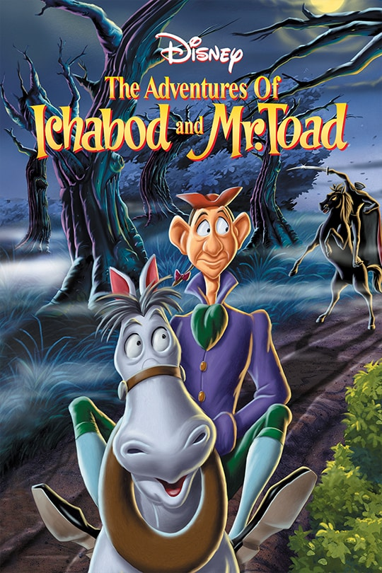 The Adventure of Ichabod and Mr.Toad poster