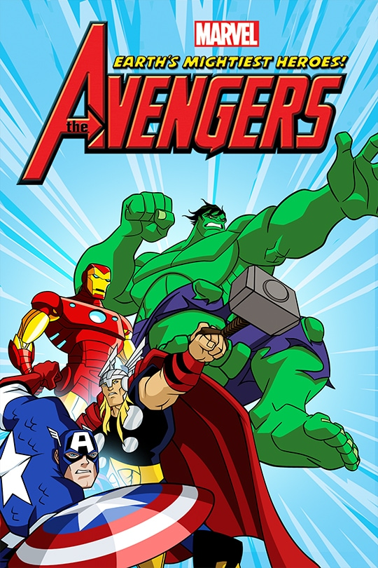 Marvel The Avengers Earth's Mightiest Heroes! Poster