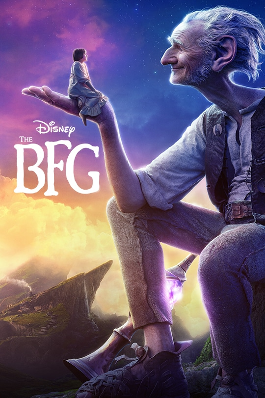 """Disney """"The BFG"""" movie poster"""