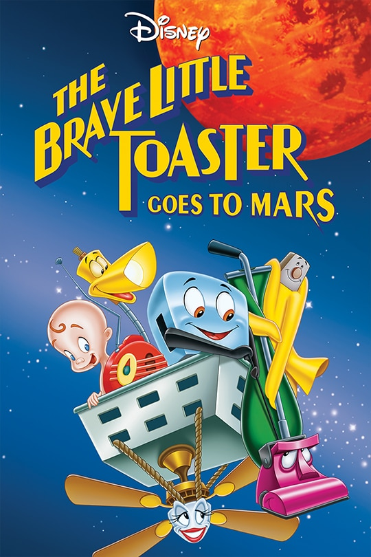 Disney | The Brave Little Toaster Goes to Mars movie poster