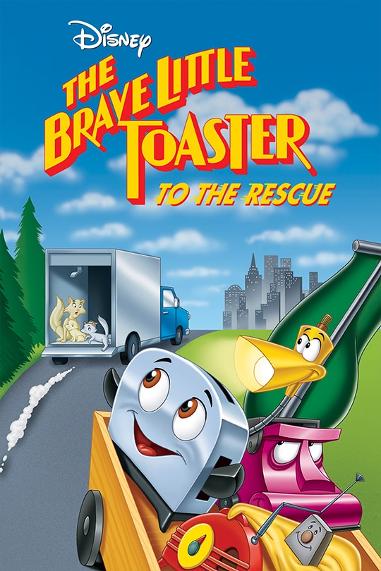 Disney | The Brave Little Toaster To The Rescue movie poster