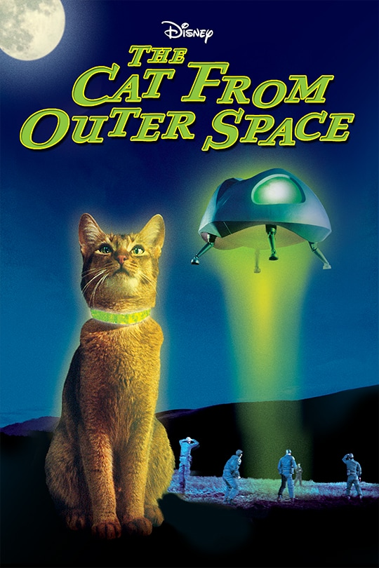 Disney | The Cat From Outer Space movie poster