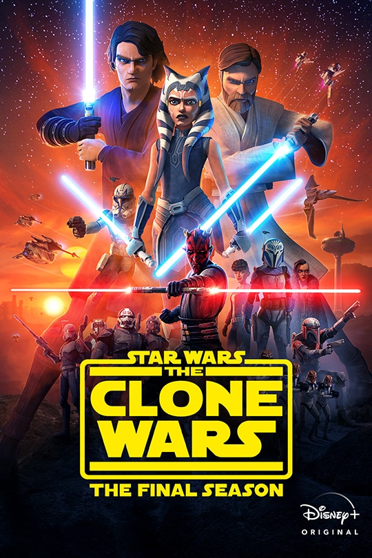 Star Wars: The Clone Wars: The Final Season - poster image