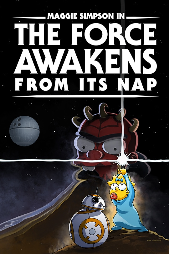 The Force Awakens from Its Nap poster