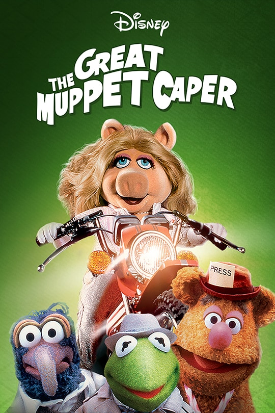 Disney | The Great Muppet Caper | movie poster
