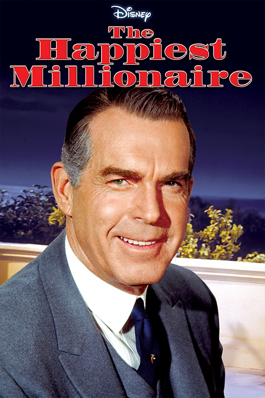 The Happiest Millionaire movie poster
