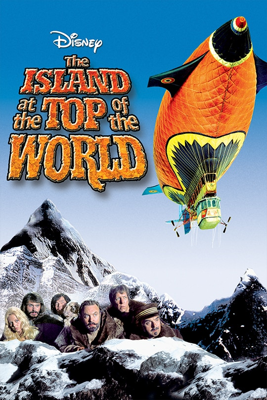 The Island at the Top of the World movie poster