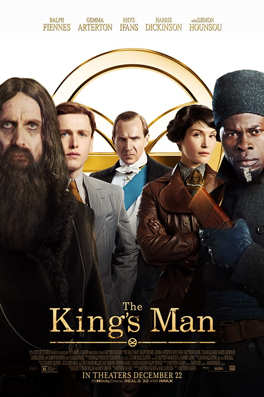 The King's Man | In theaters December 22 | movie poster