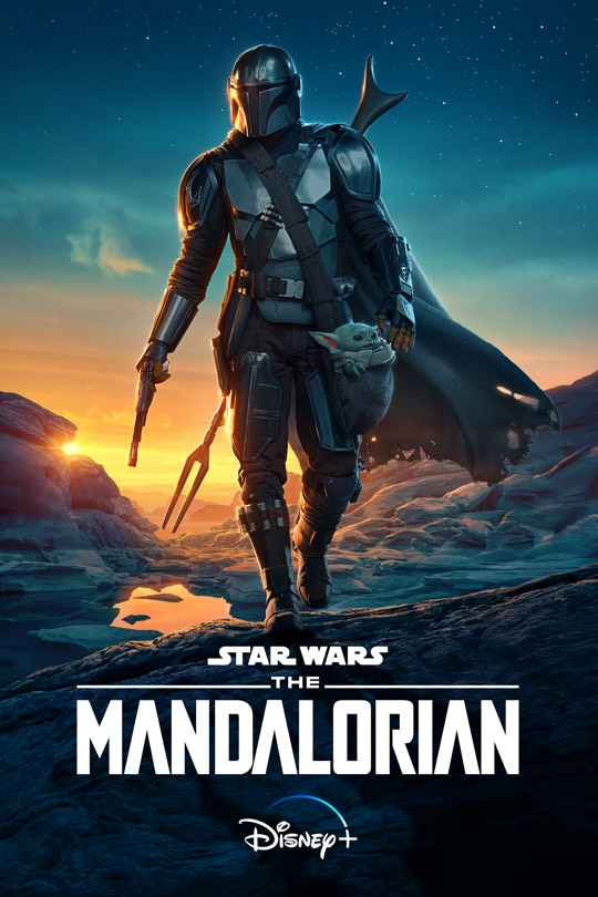 Star Wars: The Mandalorian Season Two poster image | Disney+