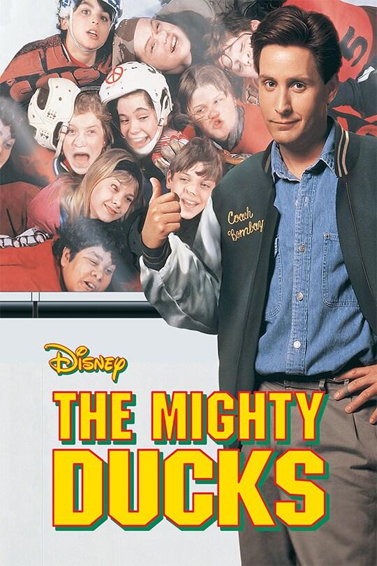 Disney The Mighty Ducks movie poster