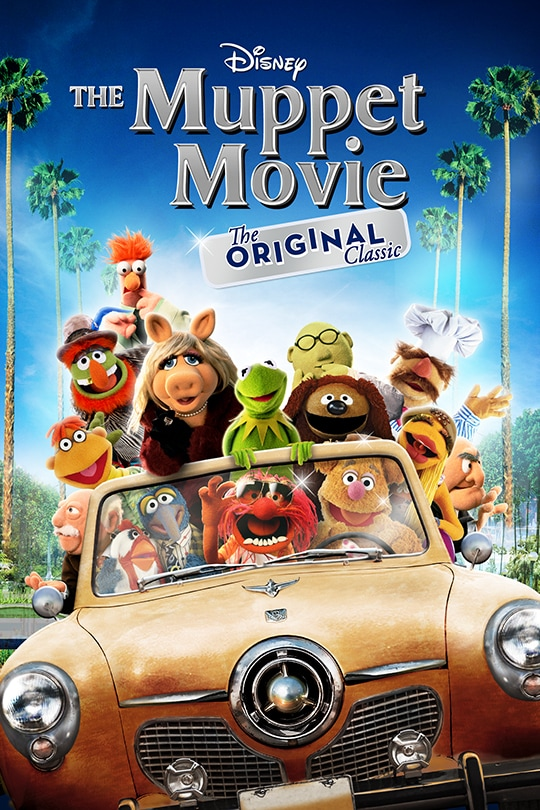 Disney | The Muppets Movie - The Original Classic movie poster