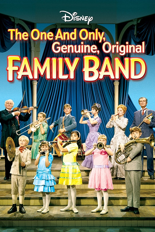 The One and Only, Genuine, Original Family Band poster