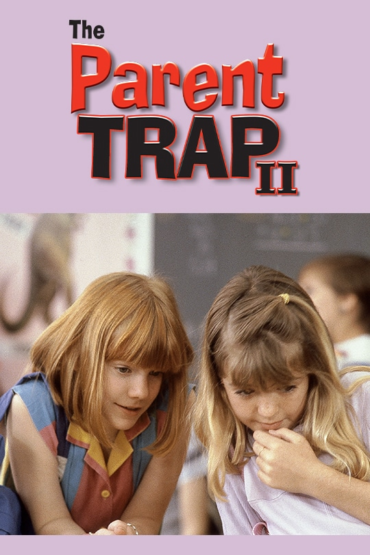 The Parent Trap II movie poster