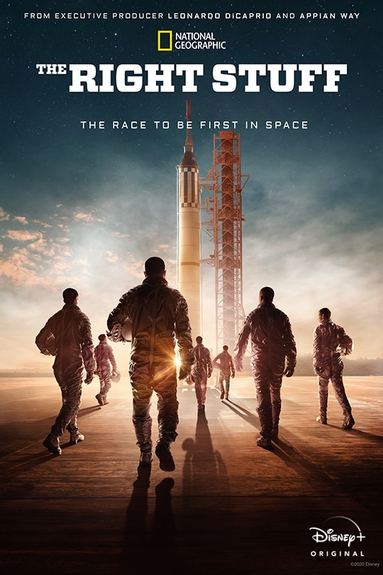National Geographic | The Right Stuff movie poster