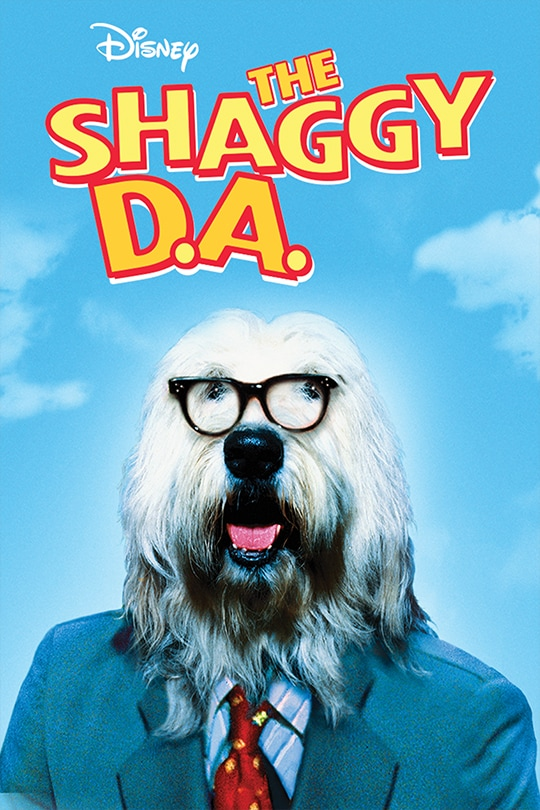 The Shaggy D.A. movie poster