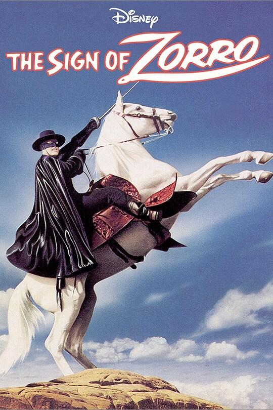 Disney The Sign of Zorro movie poster