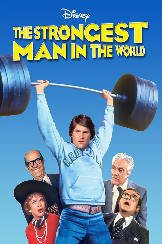 The Strongest Man in the World poster