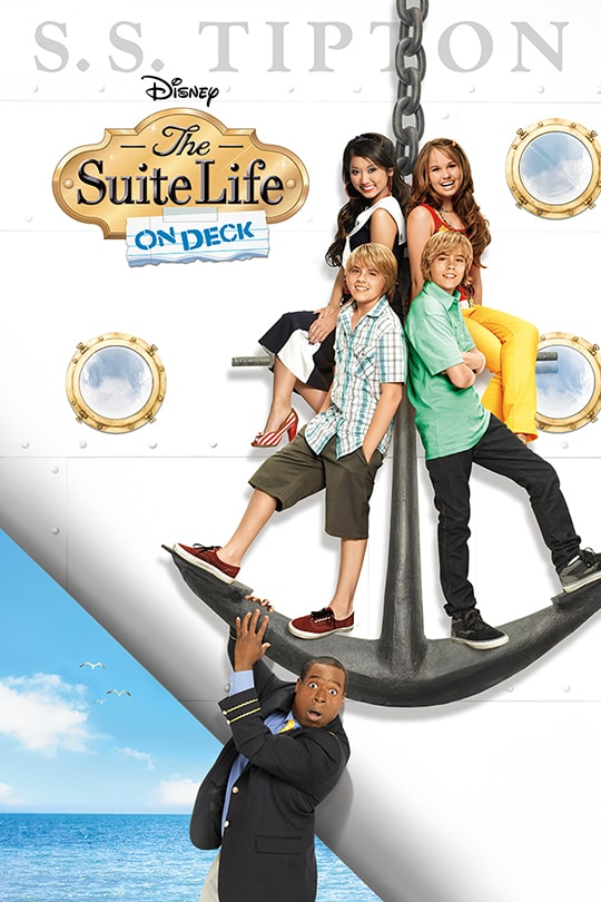 The Suite Life On Deck Poster
