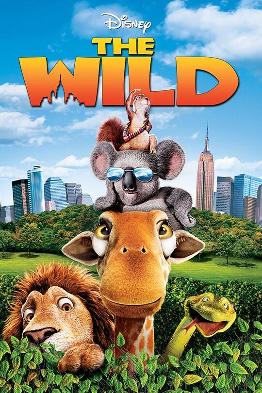 Disney The Wild movie poster