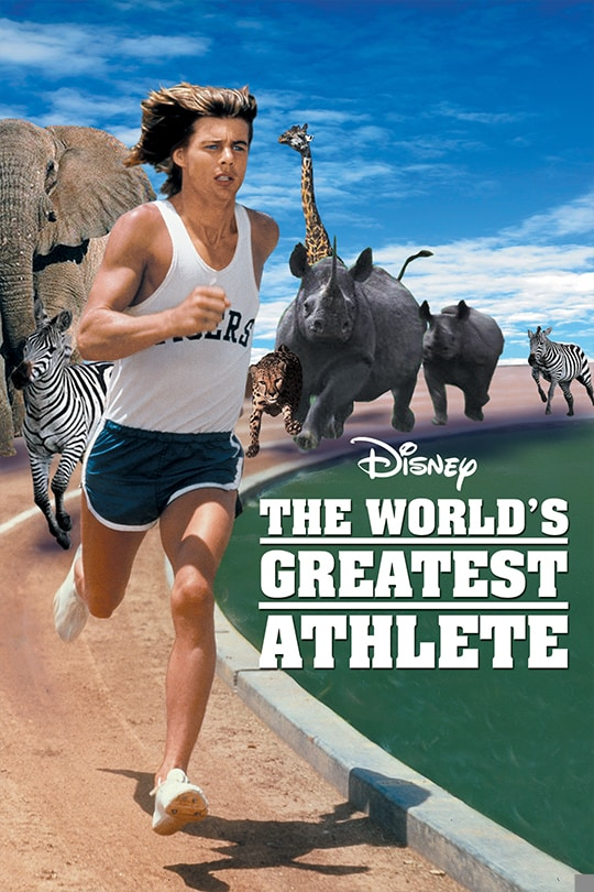 The World's Greatest Athlete movie poster