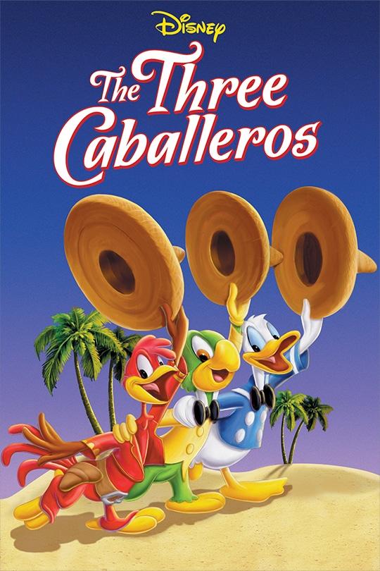 The Three Caballeros movie poster