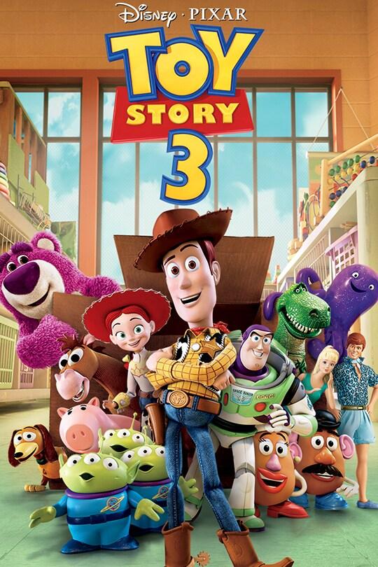 Disney-Pixar Toy Story 3 movie poster