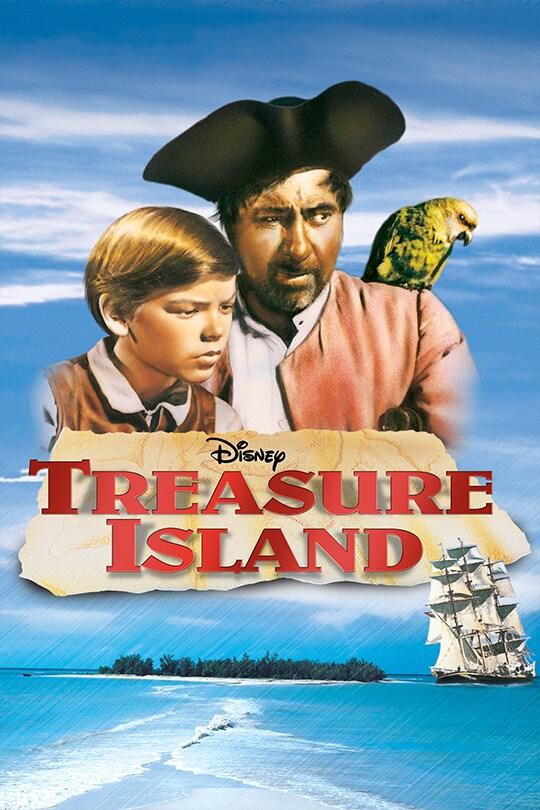 Disney Treasure Island movie poster