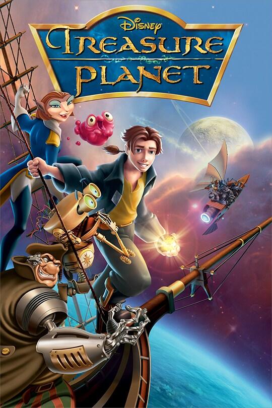 Disney Treasure Planet movie poster