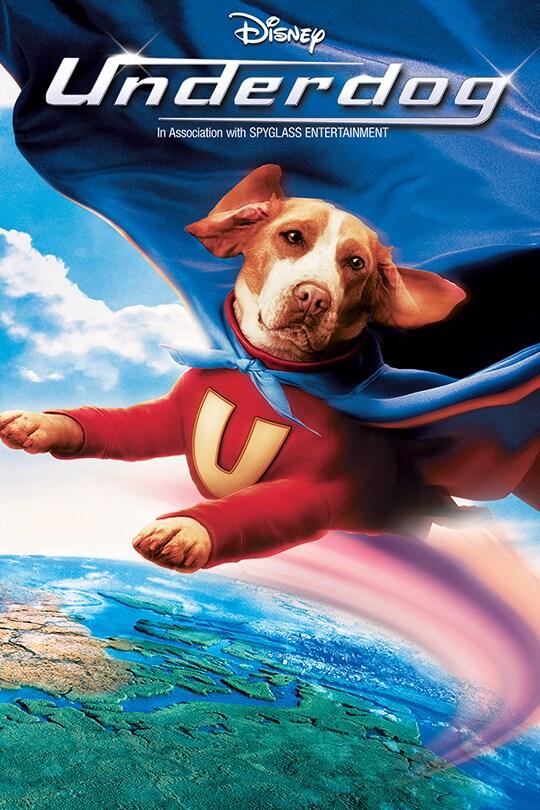 Disney | Underdog movie poster | In Association with Spyglass Entertainment